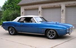 1969 Pontiac Firebird Convertible, 461, 5M