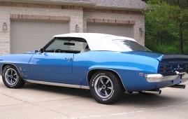 1969 Pontiac Firebird Convertible, 461, 5M Tremec